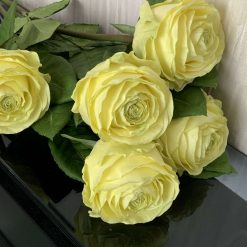 Handmade roses Lemonade