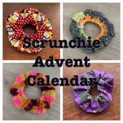 Scrunchie Advent Calendar