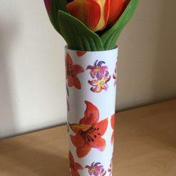 Lily Glass Vase