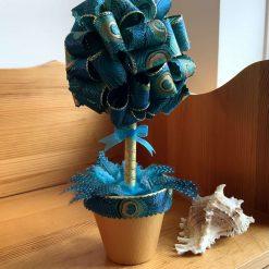 Ribbon Topriary Tree