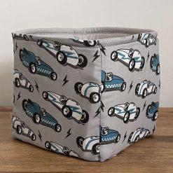 Car fabric storage cube