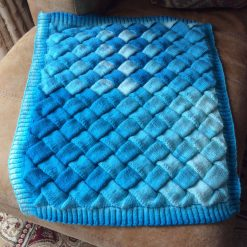 Entrelac Pattern Baby Blanket