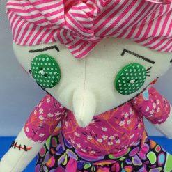 Doris, PricklesandSpike, OOAK, handmade, Doll, Gift, Accessories, gift Keepsake