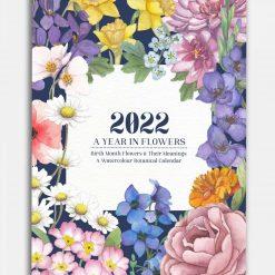 2022 Watercolour Botanical Calendar