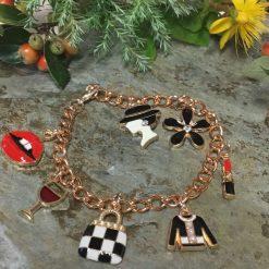 Art Deco Clip on Earrings Kiddies jewellery