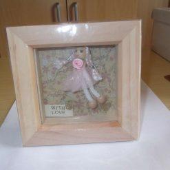 DEEP BOX PICTURE FRAME (GLAZED) - GIFT FOR LITTLE GIRL