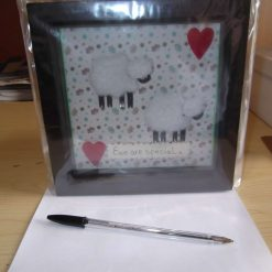 BOX PICTURE FRAME - SHEEP THEME - EWE ARE SPECIAL