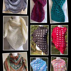 Handmade Crochet Shawl/Wraps