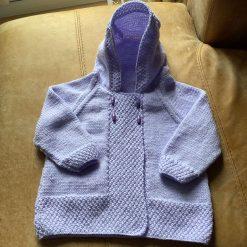 Baby Girls Jacket with Hood