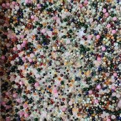 Loose gemstone bead bag