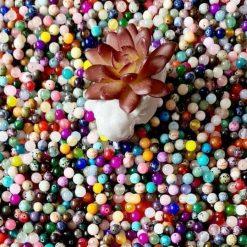 1kg bag of loose gemstone beads