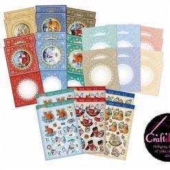 Hunkydory - Festive Friends Decoupage Card Kit