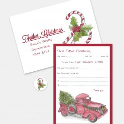 Letter to Father Christmas (Design: Vintage Truck)
