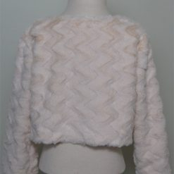 Cream Faux Fur Shrug / Jackets by SerendipityGDDs for ages 3 to 8 1