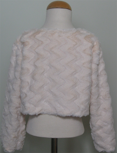Cream Faux Fur Shrug / Jackets by SerendipityGDDs for ages 3 to 8