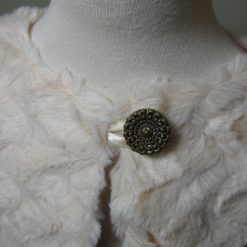 Cream Faux Fur Shrug / Jackets by SerendipityGDDs for ages 3 to 8 2