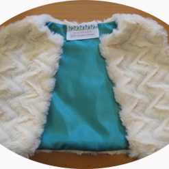 Faux Fur Gilet by SerendipityGDDs for girls age 2 2
