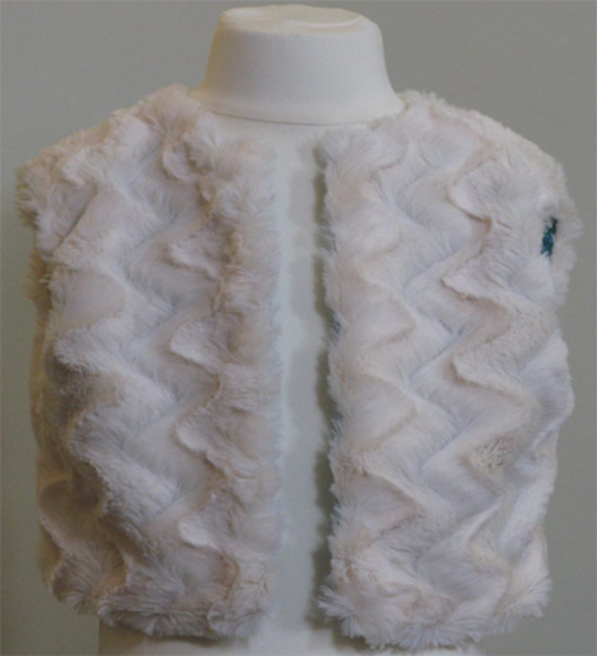Faux Fur Gilet by SerendipityGDDs for girls age 2
