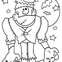 Frankenstein 3 SVG   Halloween   Dxf   Eps   Jpeg   Png   Pdf   Vector   CNC   Digital Download