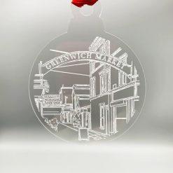 Acrylic Bauble (Design: Greenwich Market)