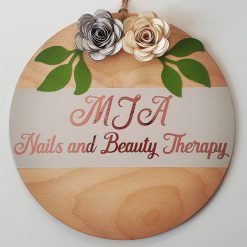 Personslised wooden name plaque (Copy)