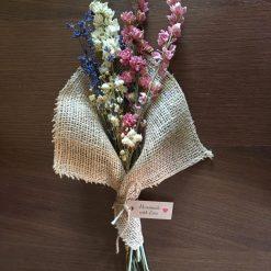 Pink Hessian Bouquet