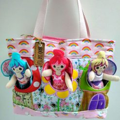 Pink themed Fairy Bag from Sand Bags, St Ives by Naomi