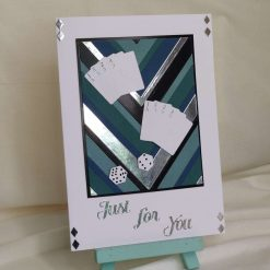 Just For You Greeting Card | Card and Dice Handmade Card