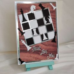 Just For You Greeting Card | Chess board Card