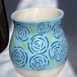 Summer Rose Vase