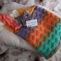 Hand knitted baby blanket (Copy)