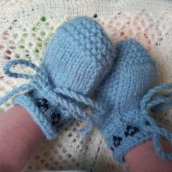 Shetland Woolies - Baby Booties/Footwear