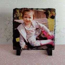 Personalised Photo Slate 14x14cm