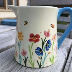 Summer Mayhem Jug, Small, Ceramic Pottery Shop, Gifts for Friends and Family