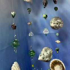 Seashell, Marble & Bead Suncatcher/Mobile