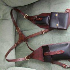 Leather Pocket Holster Harness