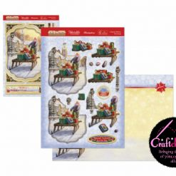Hunkydory - The Joy Of Christmas - Deco-Large Collection - A Special Delivery Deco-Large Set