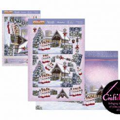 Hunkydory - The Joy Of Christmas - Deco-Large Collection - Christmas Choir Deco-Large Set