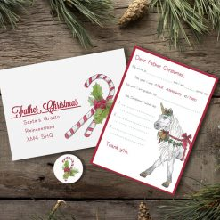 Letter to Father Christmas (Design: Unicorn)