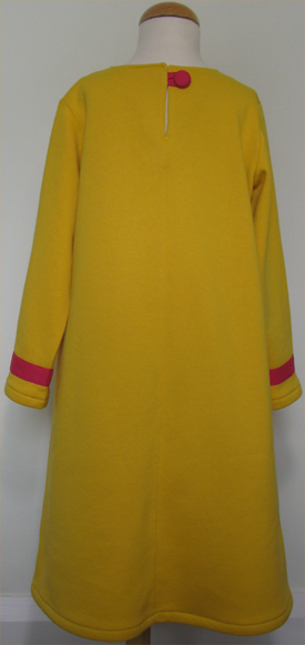 Mellow Yellow dress by SerendipityGDDs for age 8 or 9