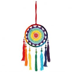 Multicoloured String Tassel Dreamcatcher