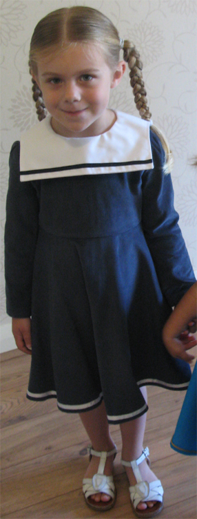 Navy Days Dresses by SerendipityGDDs for ages 3, 4 and 5