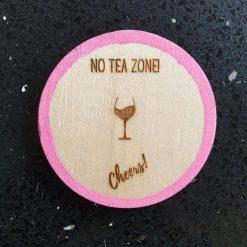 Coaster - No Tea Zone!
