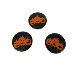 Paw Print Ghost Halloween Dog Tag with Personalisation Option