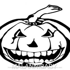 Scary Pumpkin Svg   Halloween   Dxf   Eps   Jpeg   Png   Pdf   SVG   Vector   CNC   Digital Download