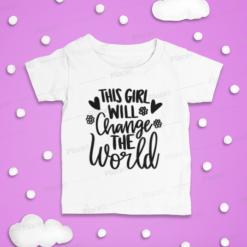 Children's T Shirt, Sunshine Mixed with Hurricane, T-shirt, Kid's t-shirt, Kids Quotes, Sayings, Funny Kids, Funny, custom Baby Shirt, Toddler, T-Shirt, Girls, Boys