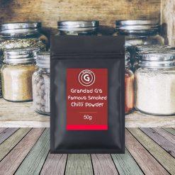 Grandad G's Famous Smoked Chilli Powder 50g