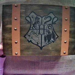 Handmade wizarding Scrapbook mini album and trunk box