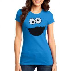 Cookie monster T shirt ( ladies )