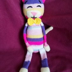 17 inches Handmade Crochet Cat